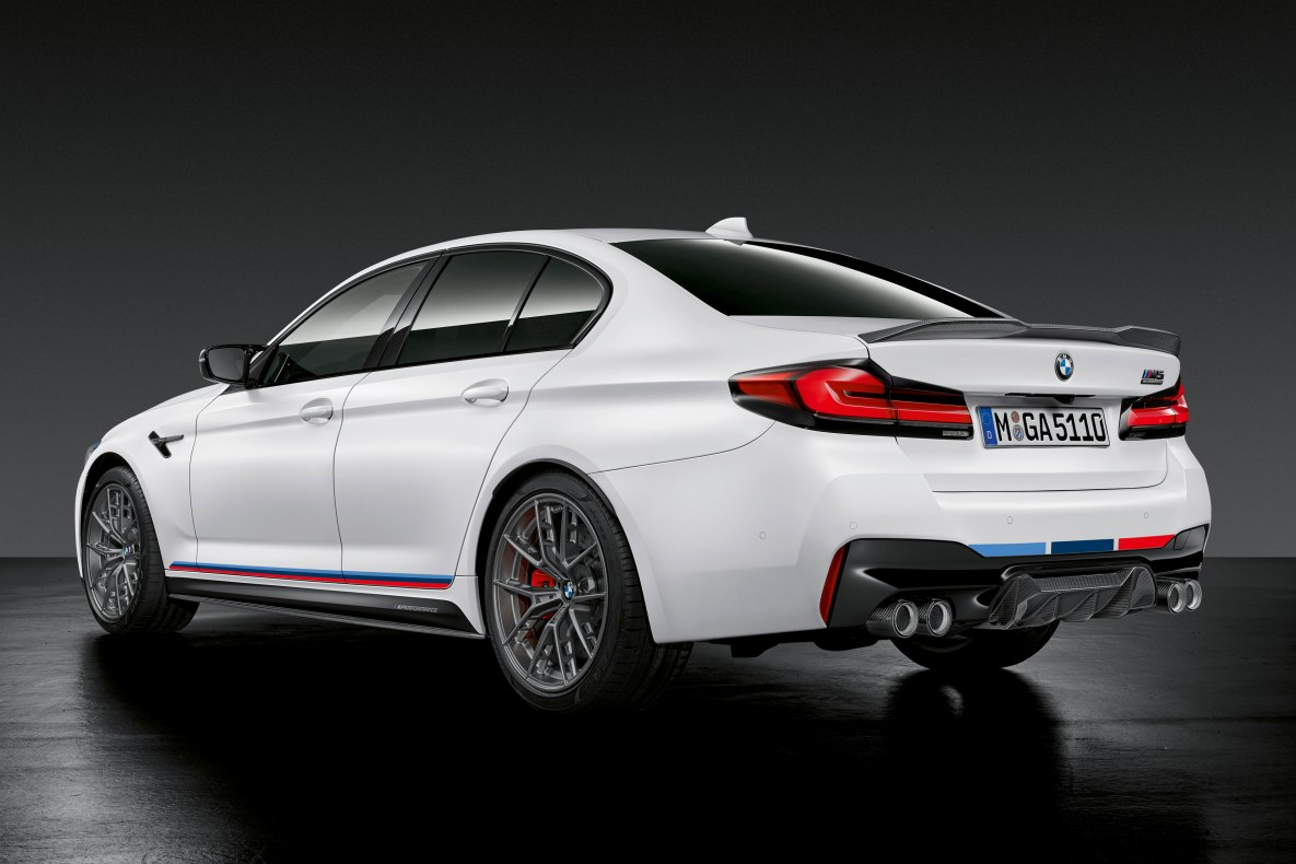 BMW M5 Competition with M Performance Parts