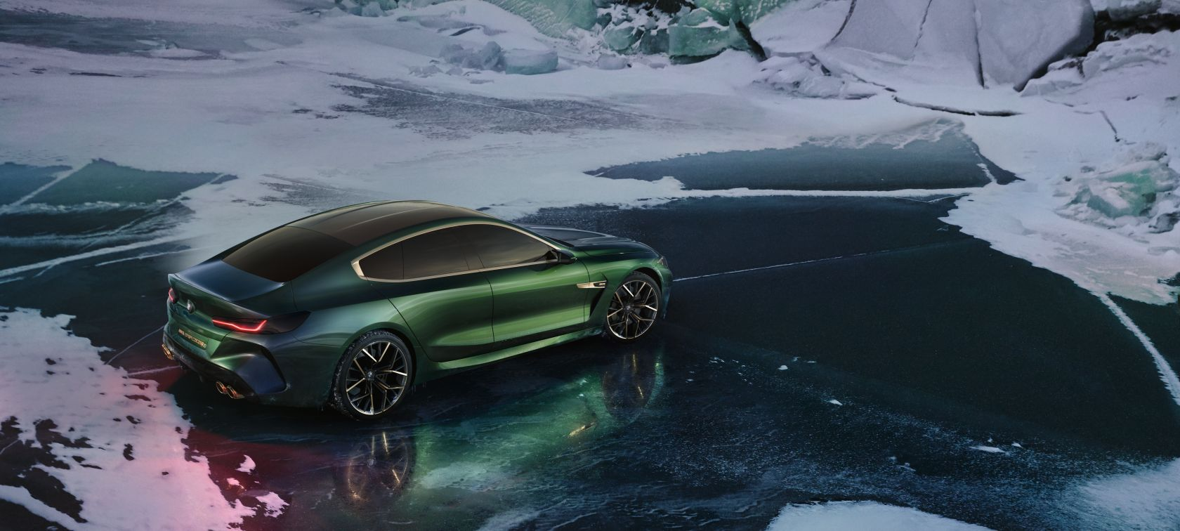 The Bmw Concept M8 Gran Coupe