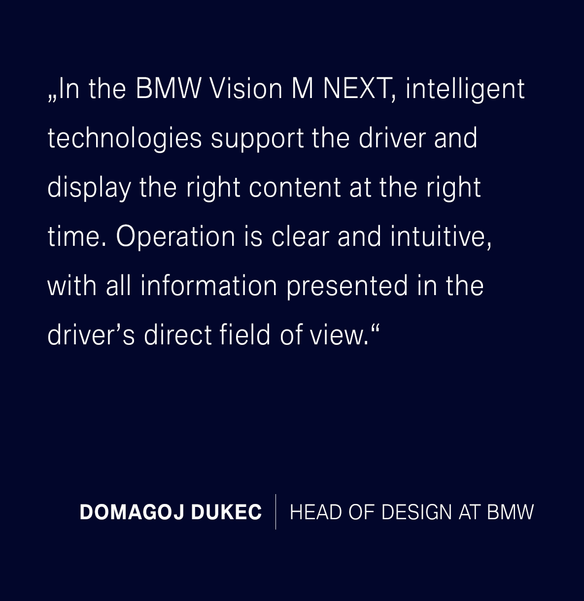 BMW Vision M Next Quote