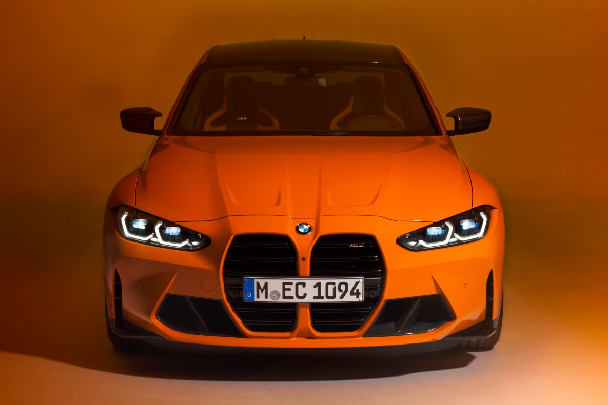 BMW Individual Fire Orange