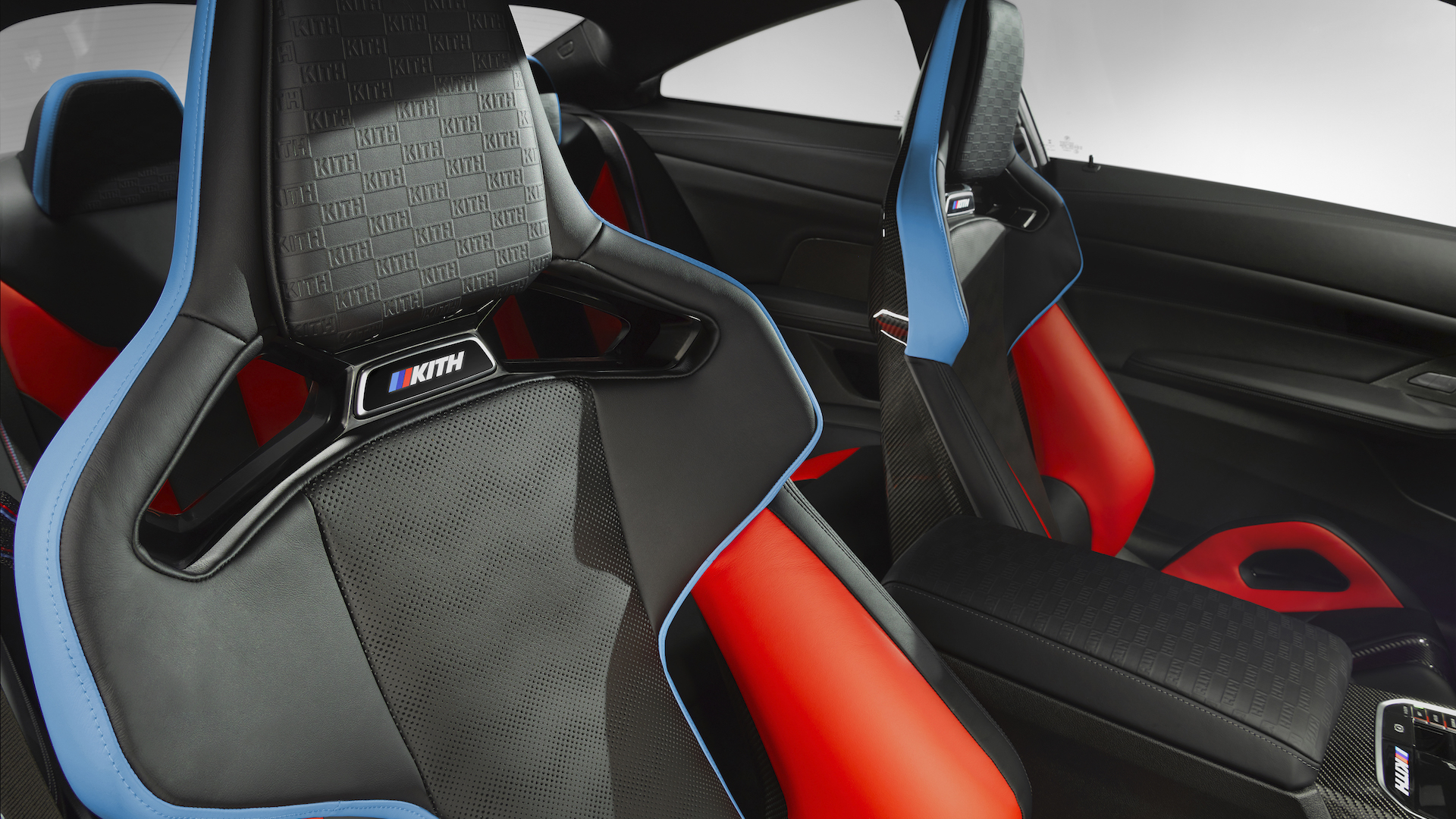 BMW M4 Competition x Kith Interior