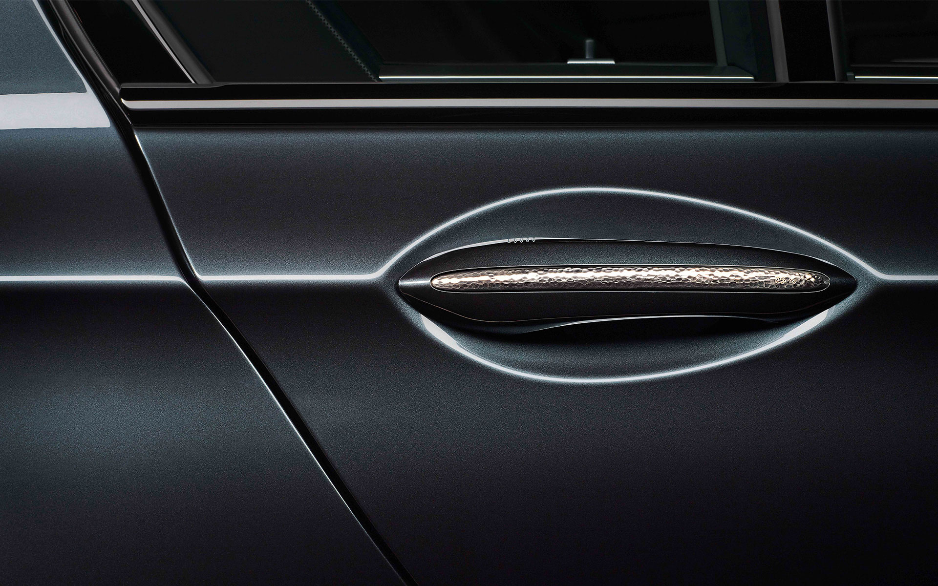 BMW Individual 760Li Sterling door handle