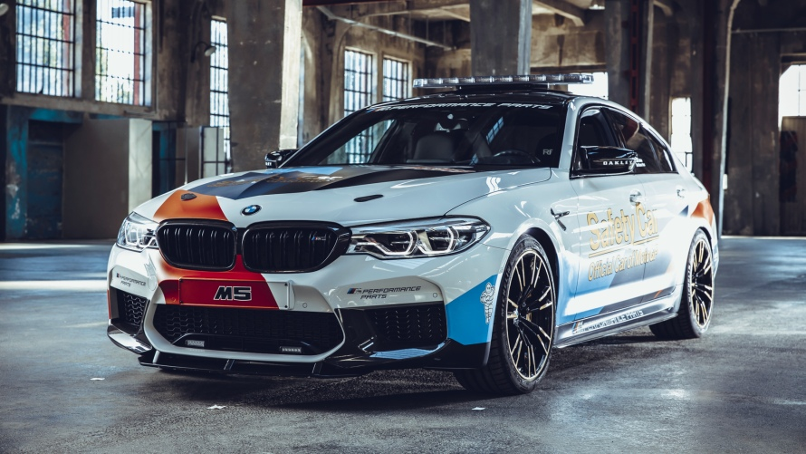BMW M5 MOTOGP™ SAFETY CAR 2018.