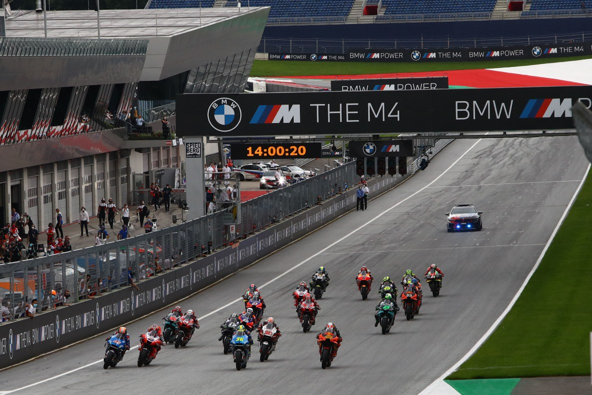BMW M at the MotoGP Season 2020