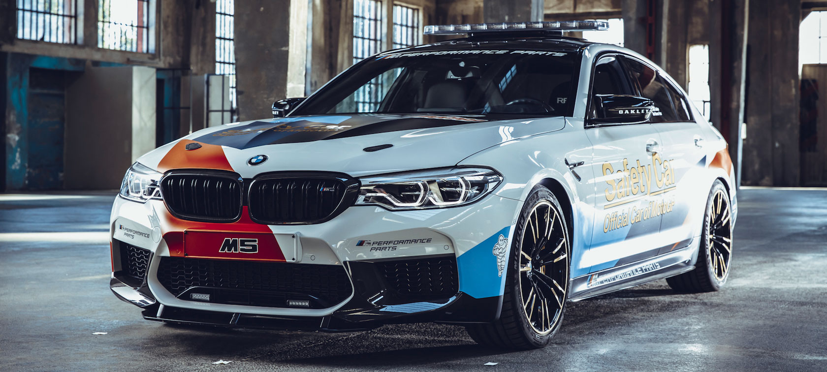 BMW M5 MotoGP™ Safety Car 2018