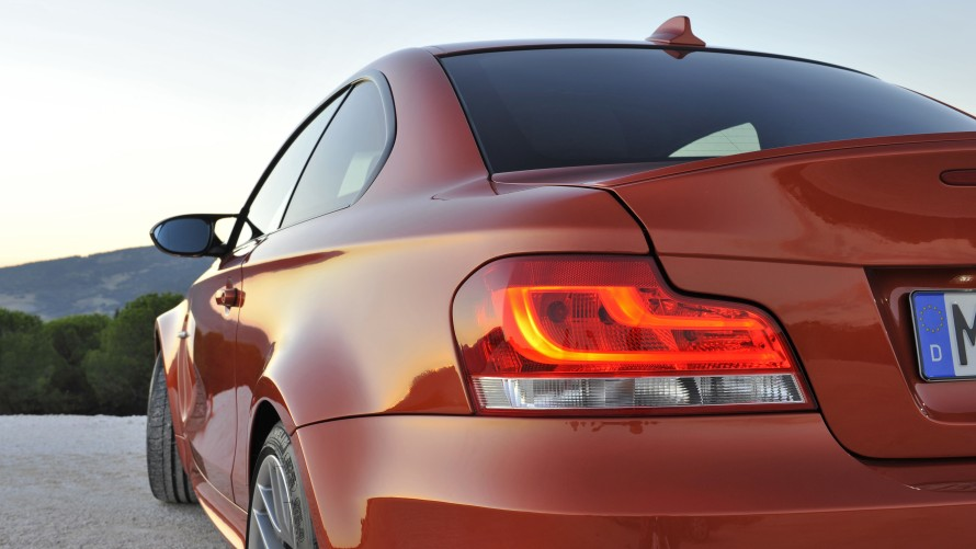 BMW 1 Series M Coupé rearlight