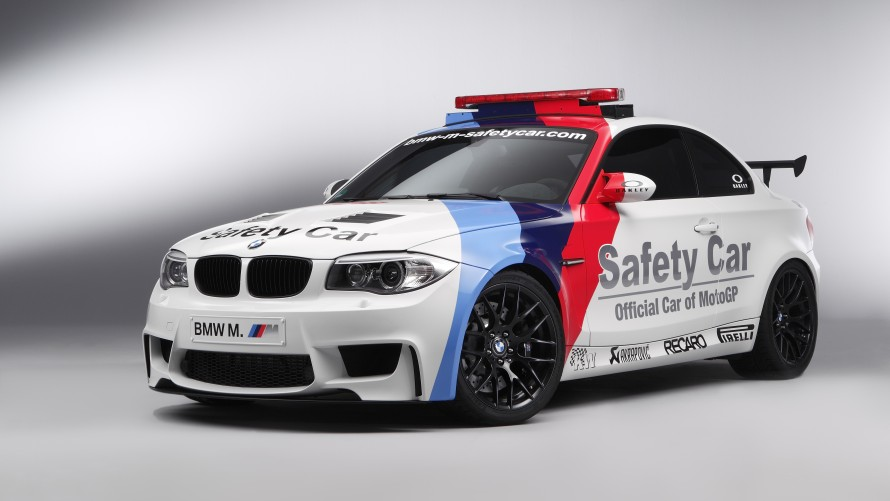 BMW 1 Series M Coupé MotoGP™ Safety Car front side view