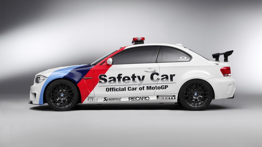 BMW 1 Series M Coupé MotoGP™ Safety Car side view