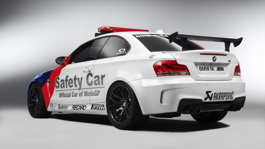 BMW 1 Series M Coupé MotoGP™ Safety Car rear side view