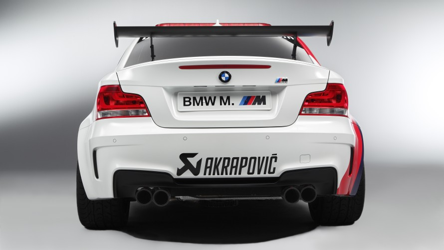 BMW 1 Series M Coupé MotoGP™ Safety Car rear view