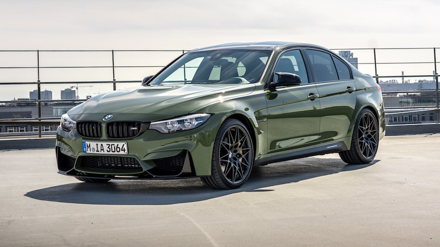 BMW M3 in Special Paint Urban Green