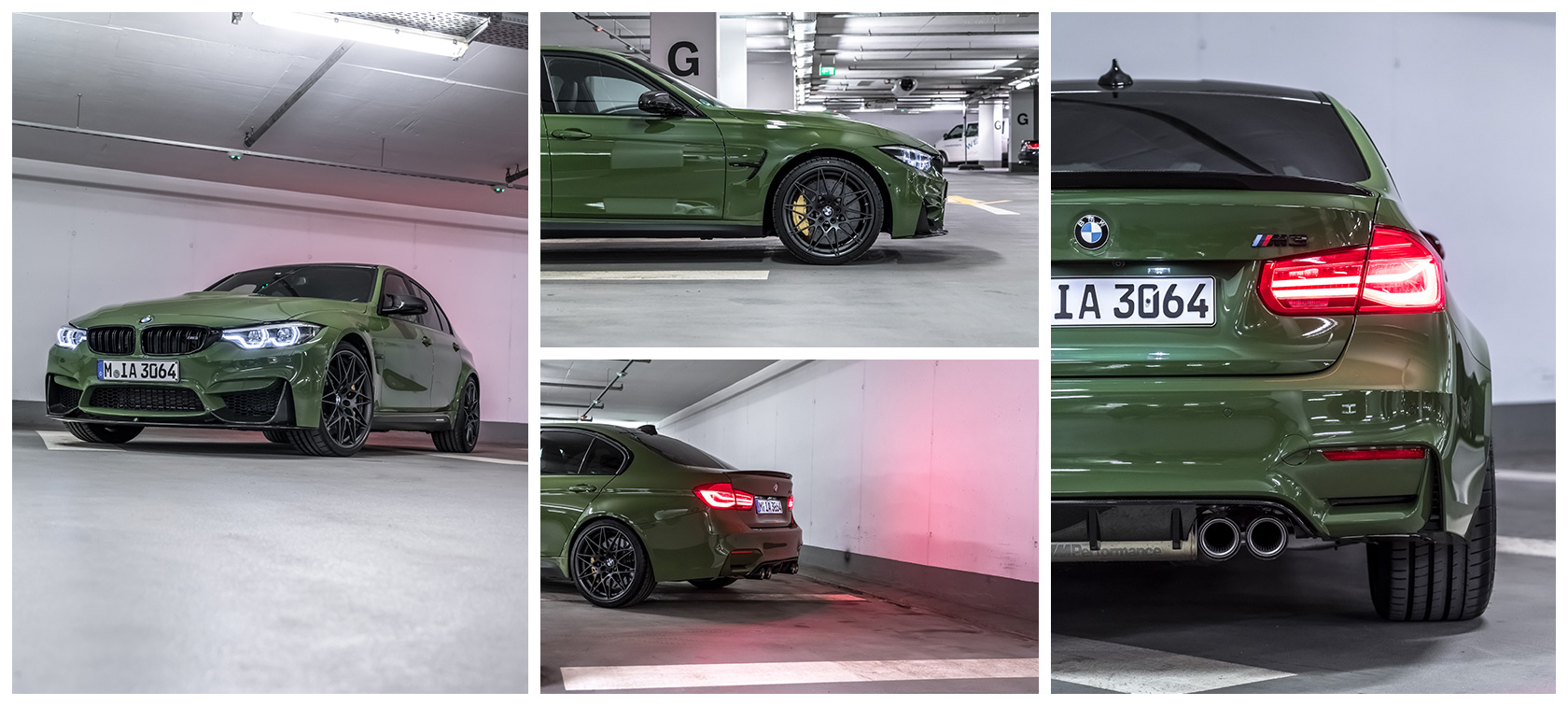 BMW M3 Urban Green