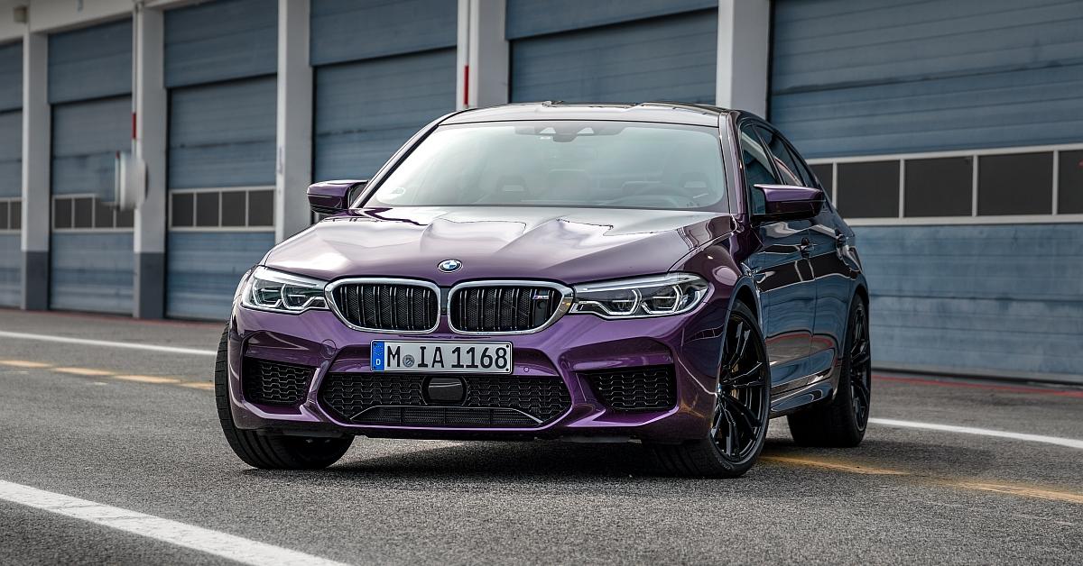 Bmw M Colours Vol 7 Bmw M5 In Purple Silk Metallic