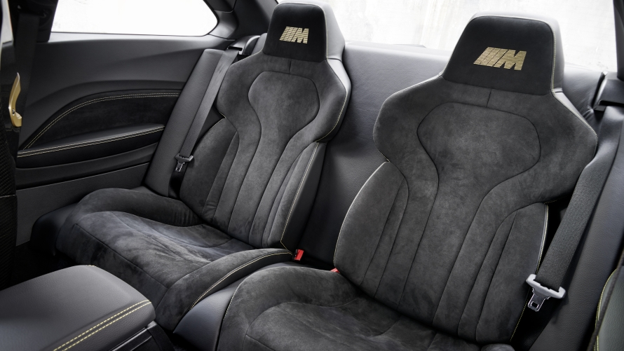BMW M Performance Parts Concept M Performance lightweight rear seats