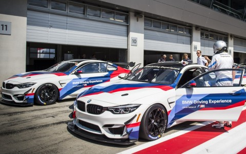 BMW M Race Track GT Training with the BMW M4 GT4
