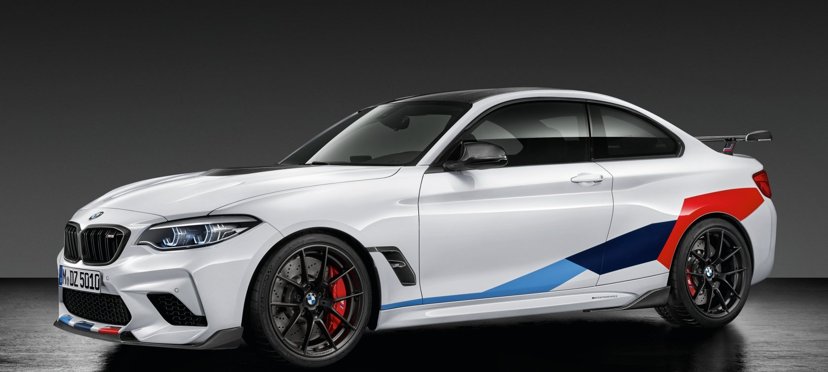 The Bmw M2 Competition With Bmw M Performance Parts