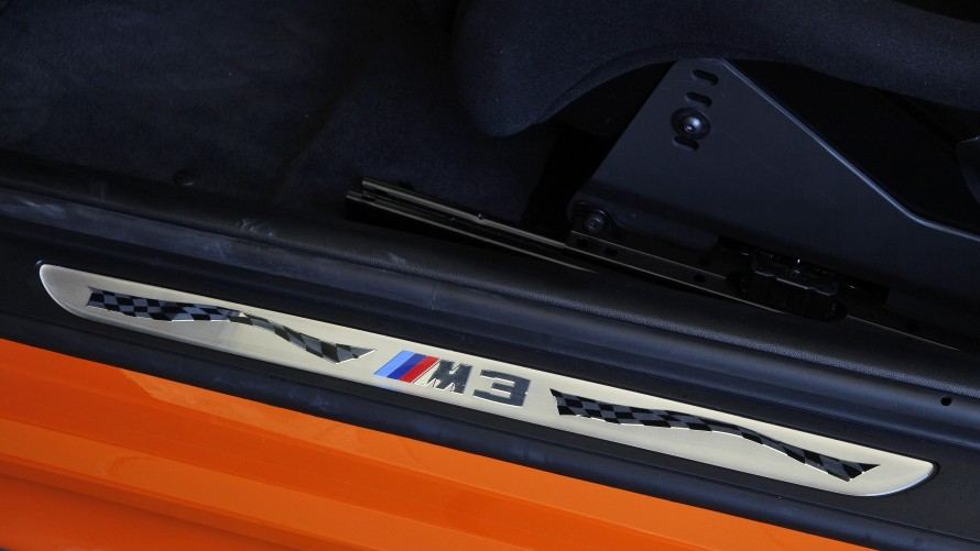 BMW M3 GTS door sills