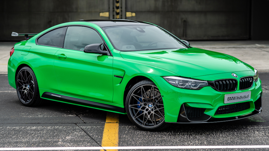 BMW M4 Coupé in Signal Green