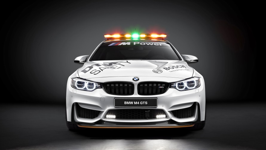 BMW M4 GTS DTM Safety Car Front