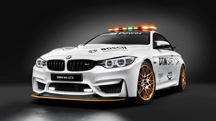 BMW M4 GTS DTM Safety Car Front Side