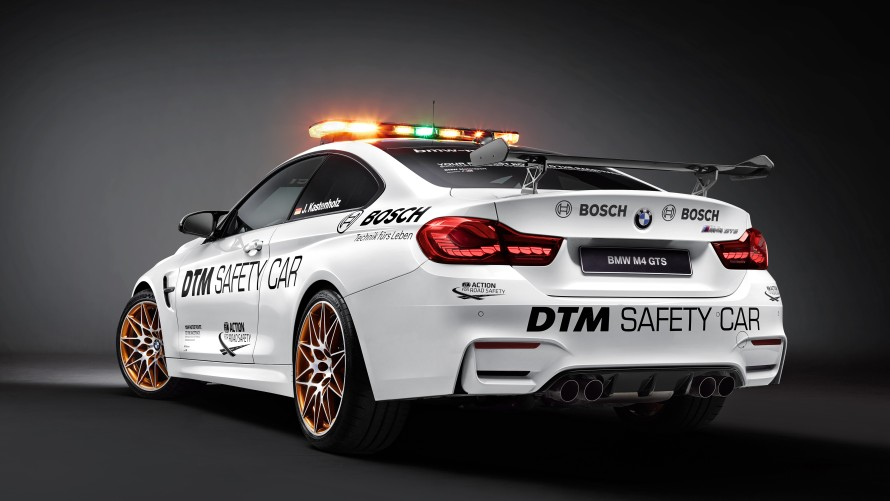 BMW M4 GTS DTM Safety Car Rear Side