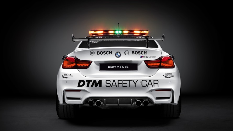 BMW M4 GTS DTM Safety Car Rear