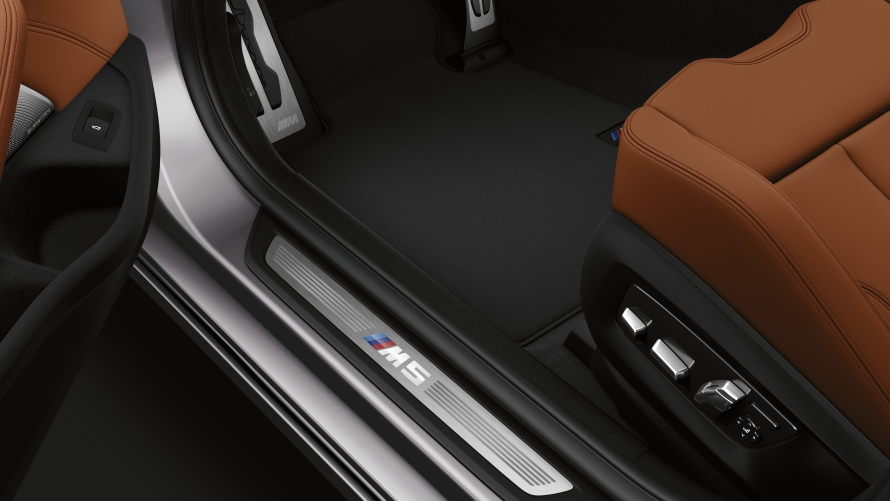 BMW M5 Competition door sill