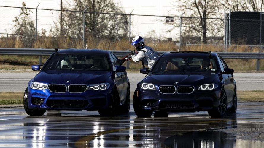 Bmw M5 Guinness World Record For Drifting