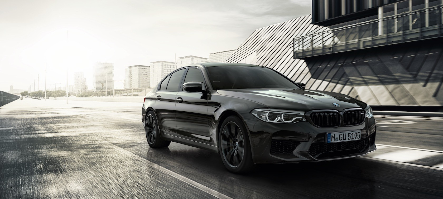 BMW M5 Mission Impossible