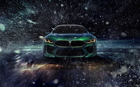 BMW Concept M8: the essence of dynamics and power