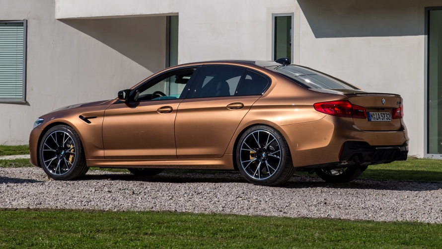 BMW M5 Competition Zanzibar metallic von M Town