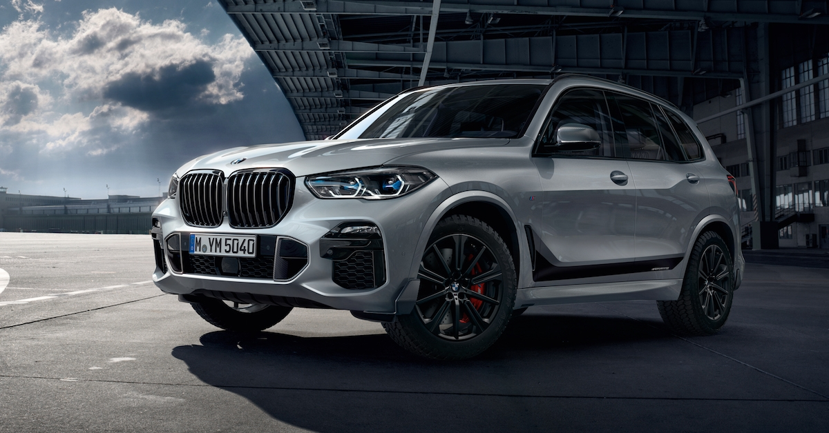 The Bmw X5 With M Performance Parts