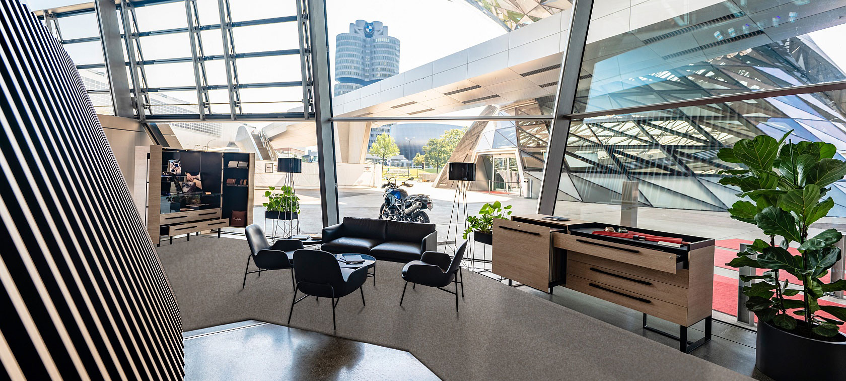 The BMW Individual Lounge at BMW Welt Munich