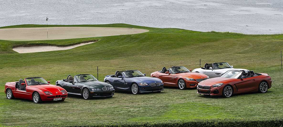 BMW Z4 First Edition in Pebble Beach