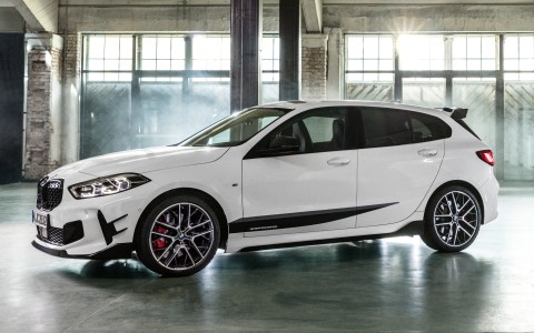 BMW M135i xDrive with BMW M Performance Parts