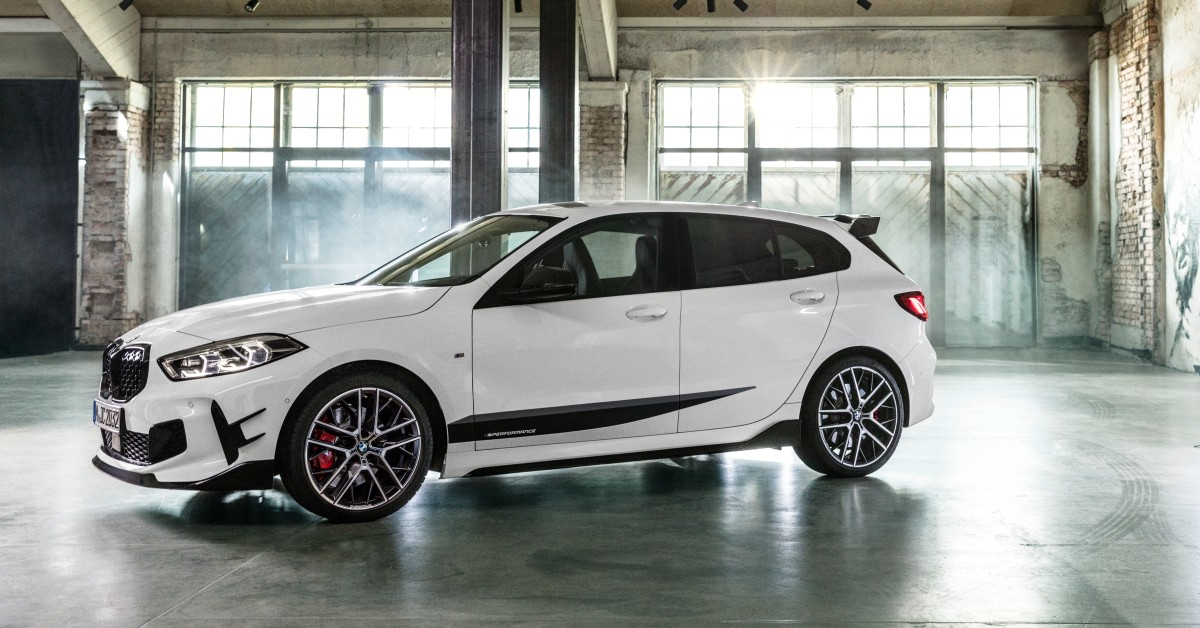 The Bmw 1 Series With Bmw M Performance Parts
