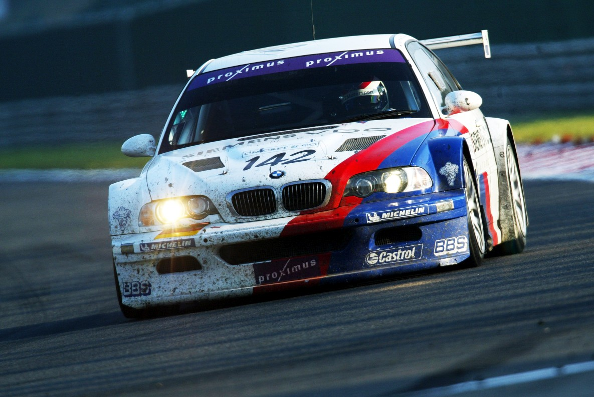 BMW M3 GTR at 24 Hours Nürburgring 2004