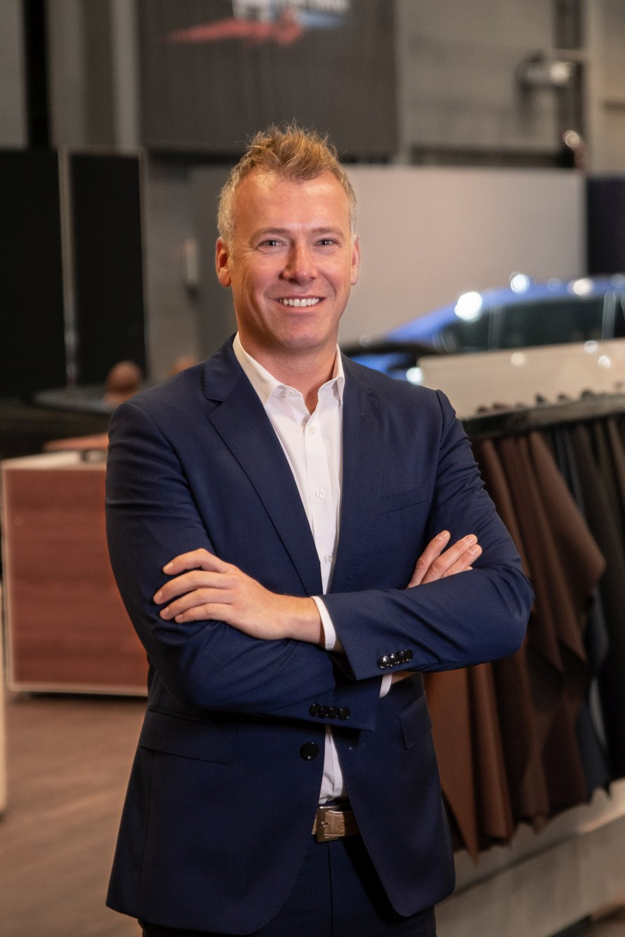 Head of Exclusive Customer Advisory and Order Management, Mathias Babbell