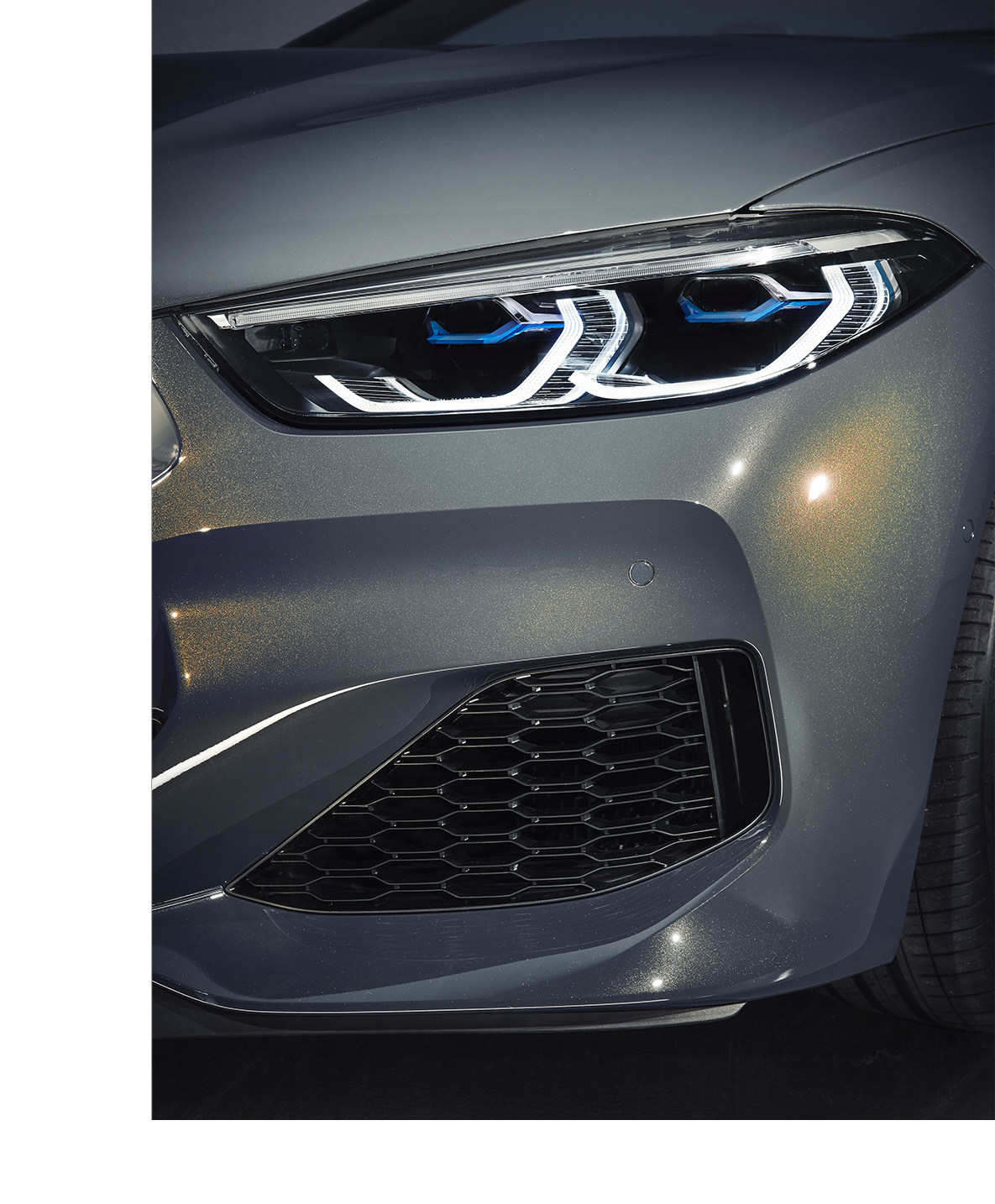 BMW M850i Convertible in BMW Individual special paint Dravite Grey metallic