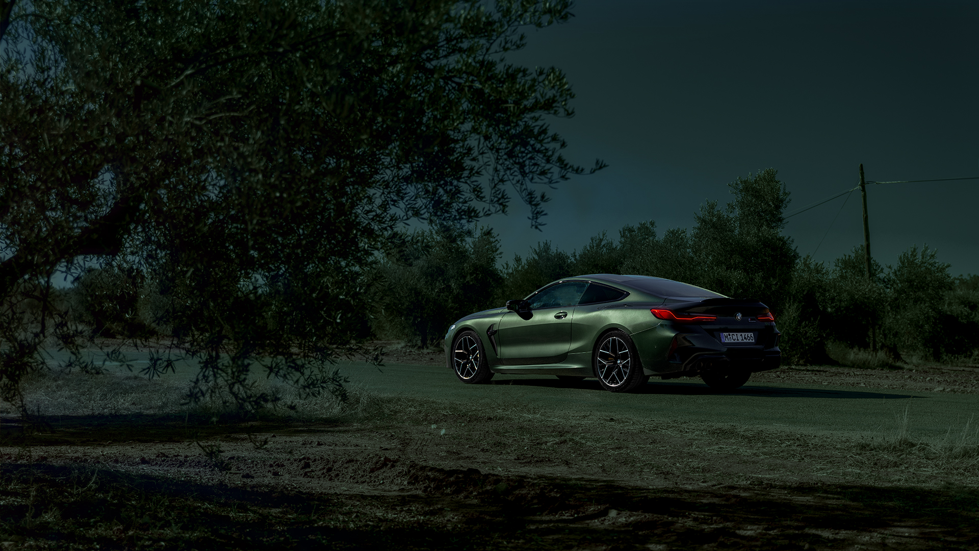 BMW M8 Competition Coupé Wallpaper