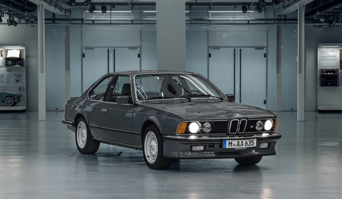 Bmw M635csi Top Model Of The E24 Series