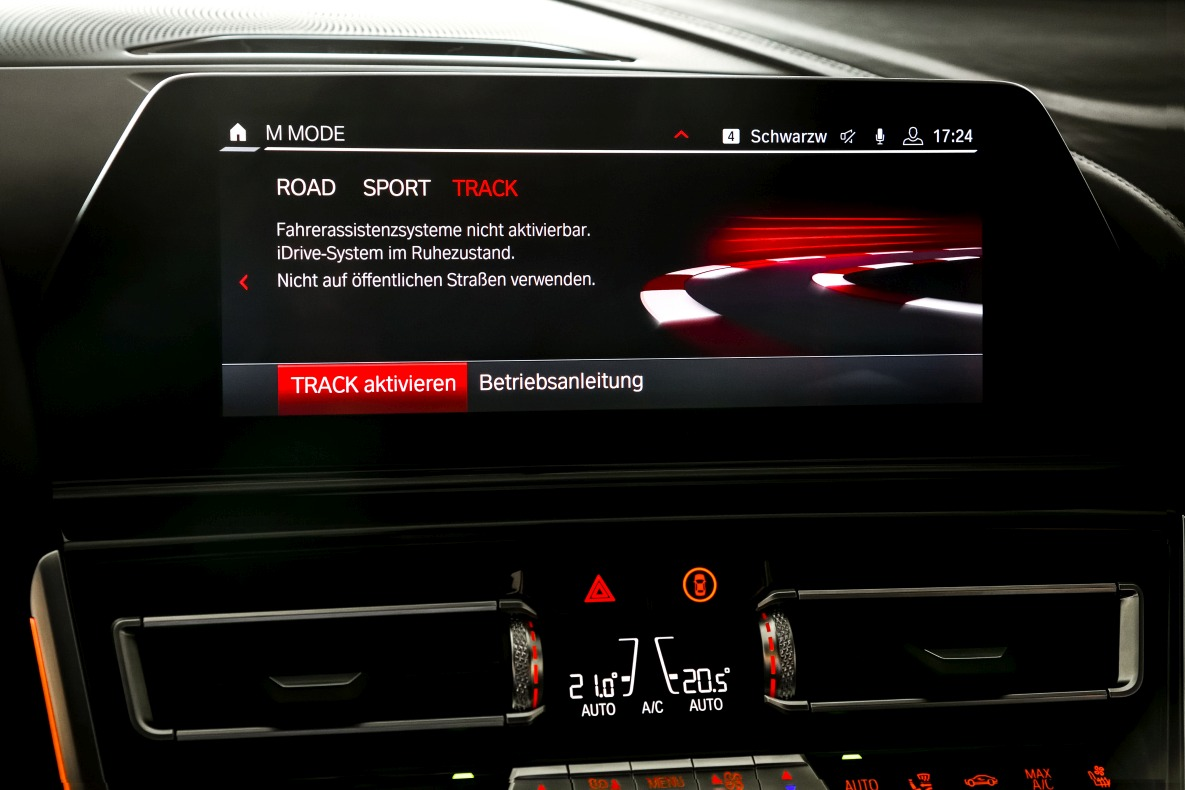 BMW Driving Mode Track