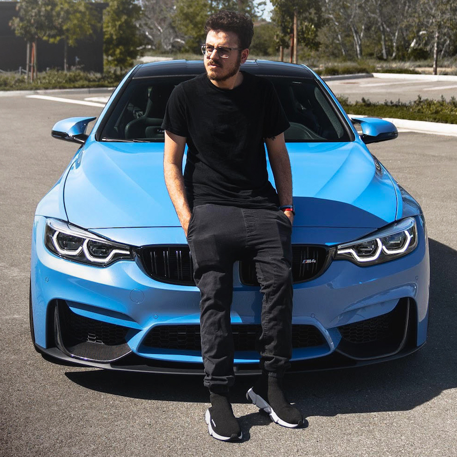 Instagramer Nick and his BMW M4 Coupé