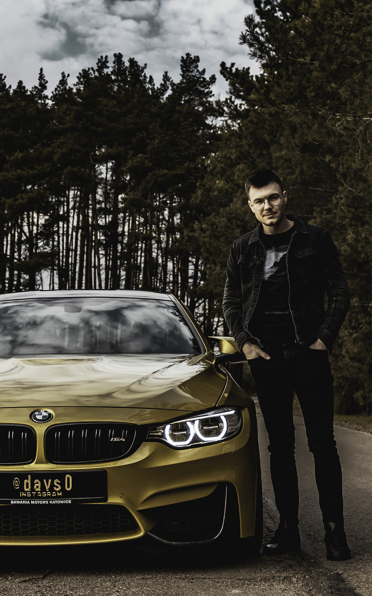 Instagrammer davs0 with his BMW M4 Coupé