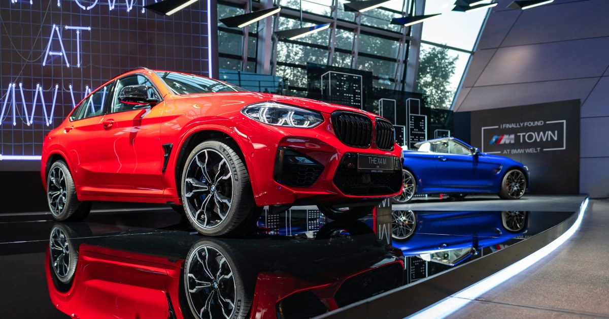 The new M Town exhibition at BMW Welt Munich