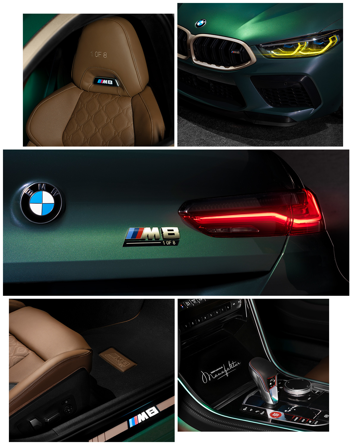 Details of the BMW M8 Gran Coupé First Edition 1-OF-8