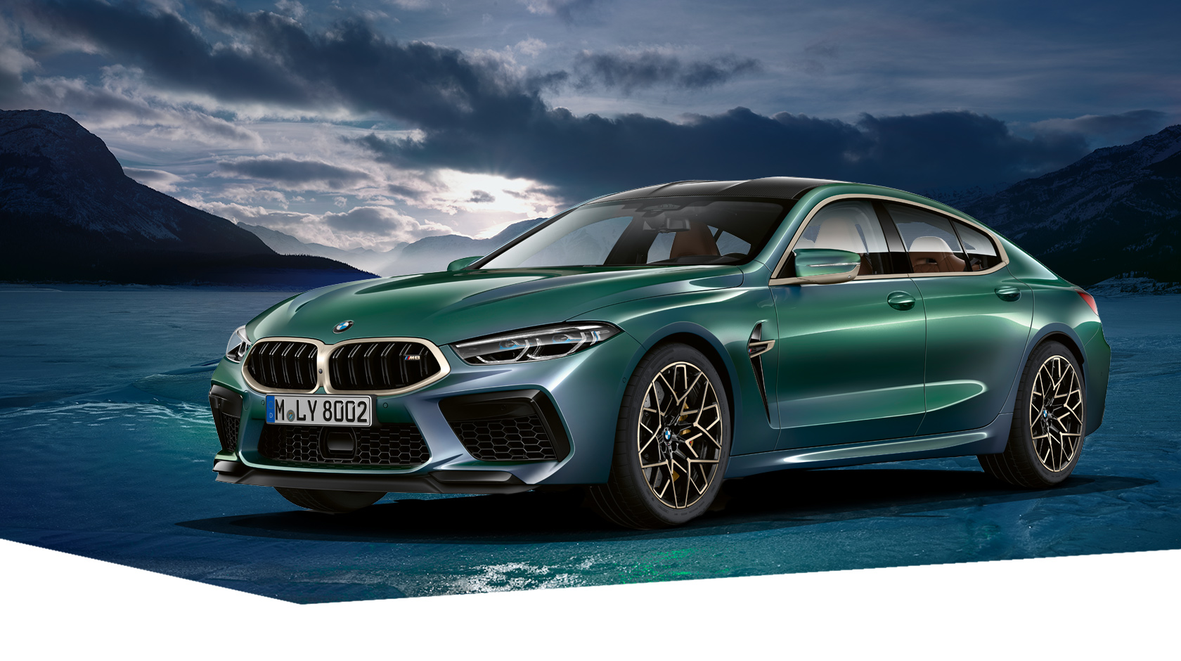 The new BMW M8 Gran Coupé First Edition