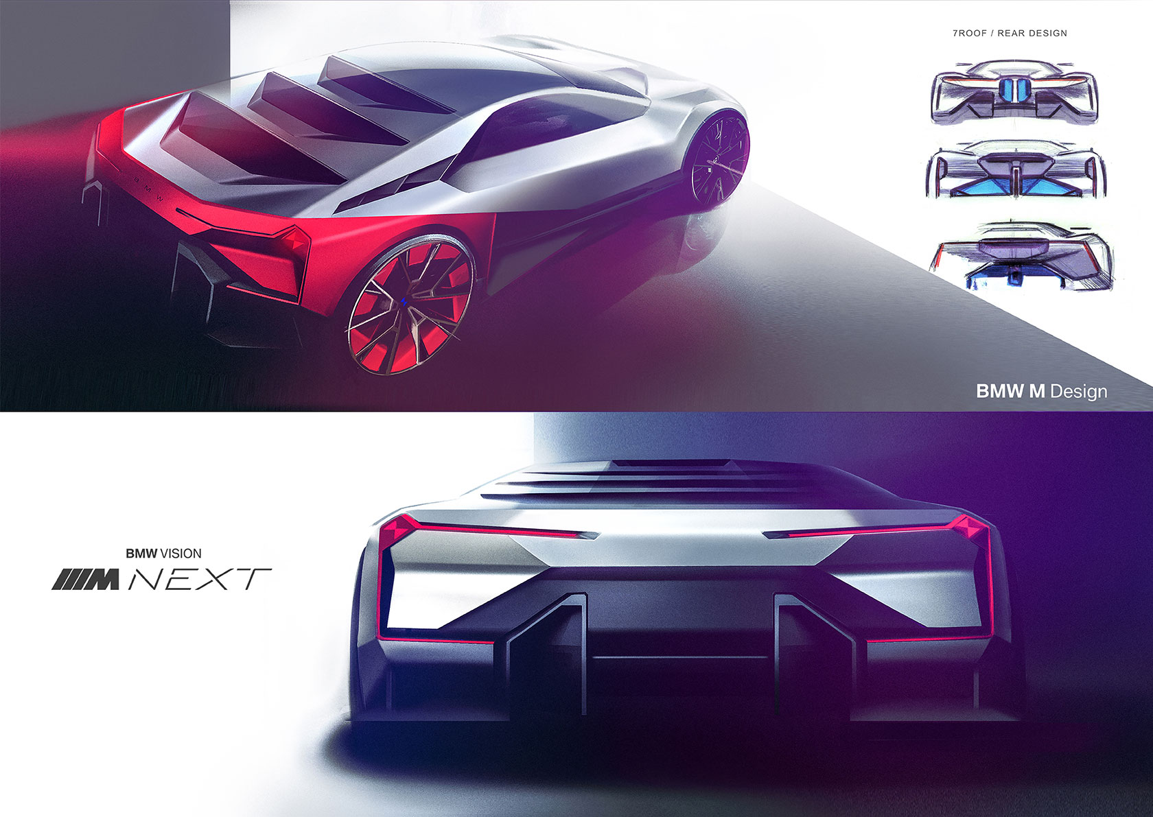 The Design Of The Bmw Vision M Next