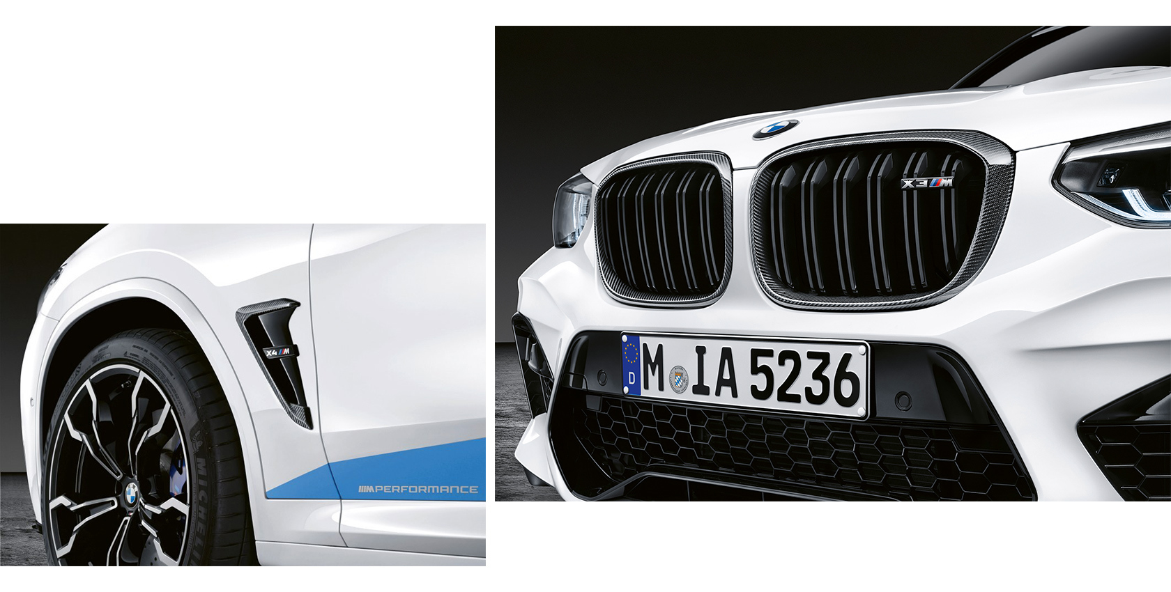 Bmw M Performance Parts For The Bmw X3 M And The Bmw X4 M