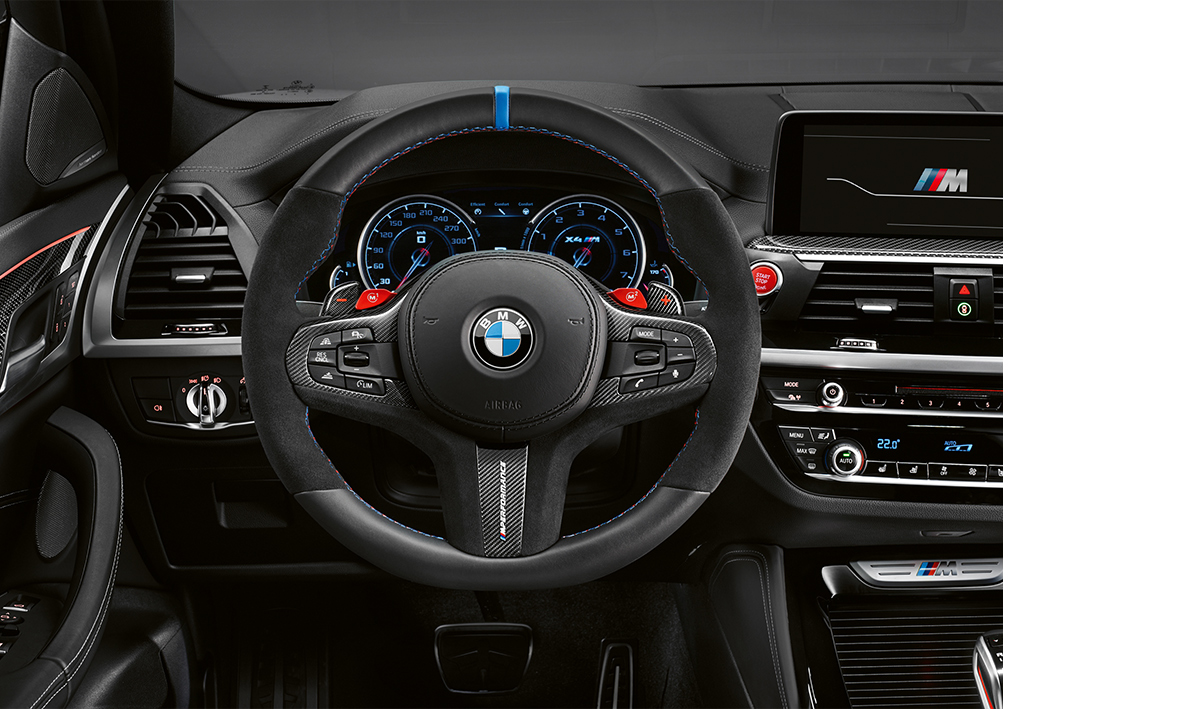 BMW X4 M Interior with M Performance Parts